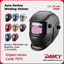 Solar powered Auto darkening TIG welding helmet/argon arc welding mask/grinding helmet Code.7075