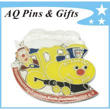 Metal níquel Broche Pin com Cloisonne macio (badge-169)