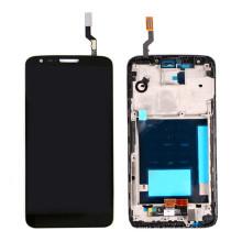 Pantalla LCD de repuesto para LG G2 D800 D801 D803 con marco Touch Assembly