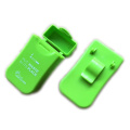 Regalos verdes Plastic Ashtray Belt Clip Carry Case