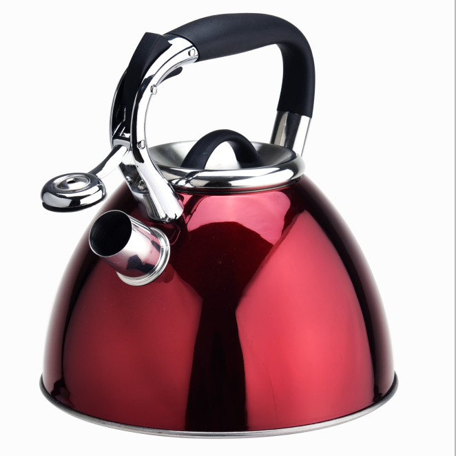 Stainless Steel Whistling Coffee Teakettle 344