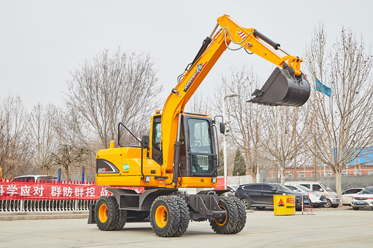 wheeled excavator for sale