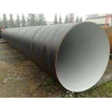 SSAW steel pipe /SPIRAL ASTM API 5 L 5 CT Q235 CS LSAW 3PE 2PE
