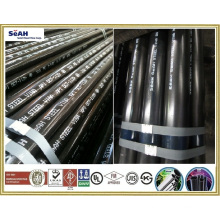 "3-1/2"" Grooved fire fighting system pipe to BS EN 10255, ASTM A53, A135, A795 - SeAH Steel Pipe"