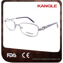 Women Optical Glasses, Popular Hinge metal glasses