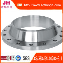 Bride ASTM A182 ANSI B16.5 Casting de 304L 316L acier inoxydable