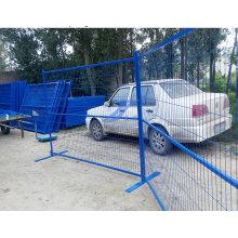 Gute Qualität Niedriger Preis Mesh Größe 50mm * 150mm PVC Pwderd Kanada Temporäre Zaun