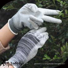 SRSAFETY 13G махровые нейлоновые трикотажные защитные рабочие перчатки