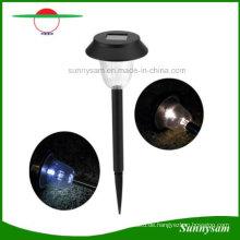Garten-Edelstahl-Solar-Rasen-Lampe LED-Pilz-Solargarten-Rasen-Licht