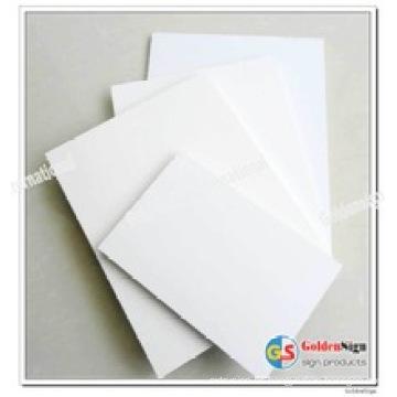 Hoja libre del PVC de la espuma / tablero plástico de la espuma del PVC / hoja de Pvcplastic para el gabinete