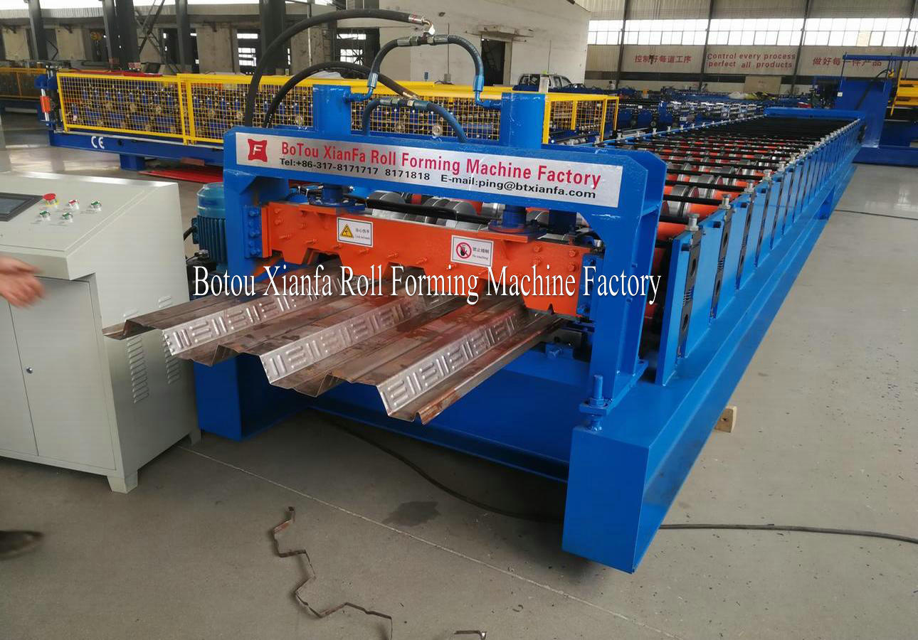 Floor Deck Machine