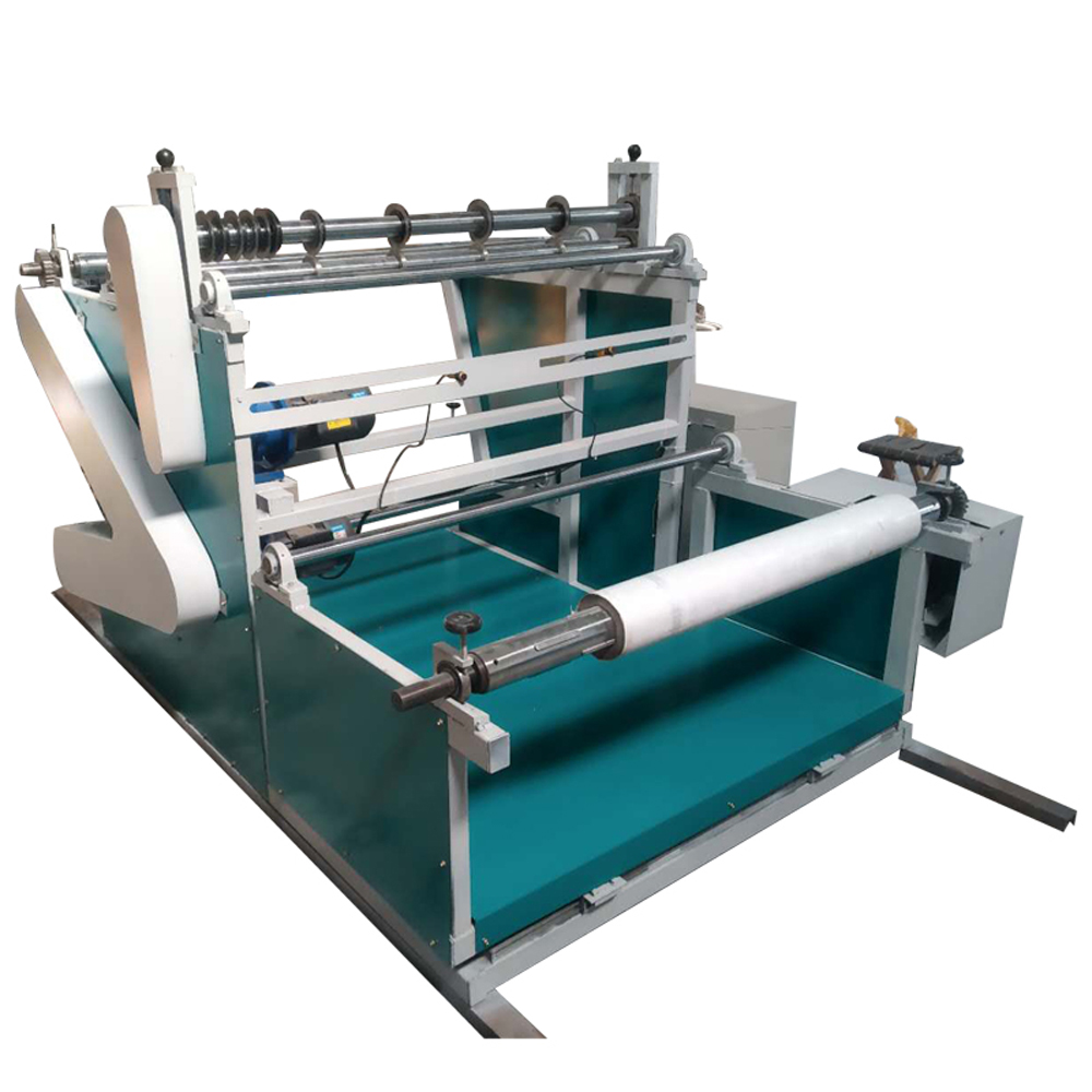 Meltblown slitting non woven cutting machine