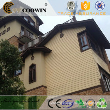 Prefab homes external wood wall cladding