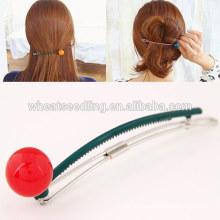Jinhua top selling alibaba resin on korean hair extension clip in