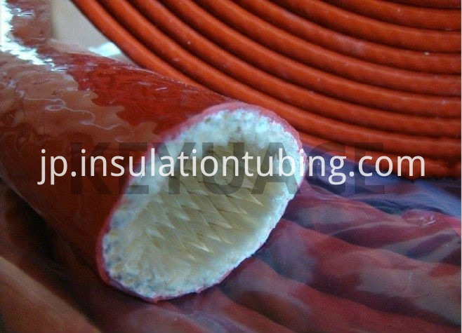 Silicone Rubber Coated Fire Heat Sleeve