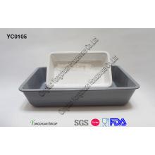 Cerâmica Baking Dish Set para Atacado