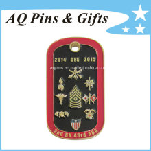 Metal Dog Tag Challenge Coin with Soft Enamel (coin-087)