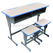 дерево и металл материал стула студент и рабочий стол Малайзия