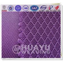 Tecido de poliéster, fluxo de ar 3D air mesh tecido sapatos