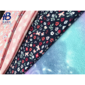 Bedrucktes Polar Fleece-Gewebe stricken