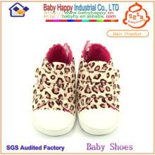 Мода топ продают популярные малыша обувь мягкой леопардовой печати детская обувь