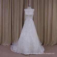 Vestido de noiva completo a linha