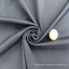 JINLONG Item WT084-1 90% Polyester 10% spandex 160/170 gsm Black Charmeuse Satin Fabric