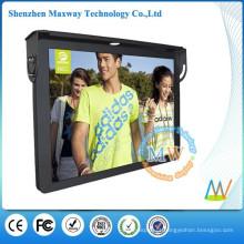 Suporte Wi-Fi ou 3G rede 19 polegadas LCD exibir carro publicidade