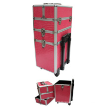 Custom Cosmetic Case with Trolley