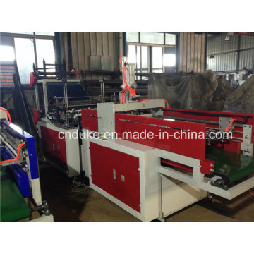 Full Automatic Punching Plastic T-Shirt Bag Making Machine