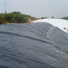 1mm / 40mils HDPE Black Geomembrane لنظام الري