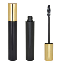 Tubes de mascara en plastique d'or simple
