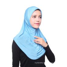 New arrival simple fashinable dubai african muslim head scarf hijab