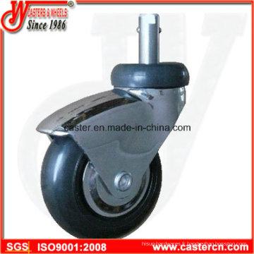 Roulette pivotante à 3 pouces avec roulement à billes de précision