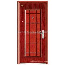 Seguridad en acero Puerta de tormenta Mantenga su hogar seguro