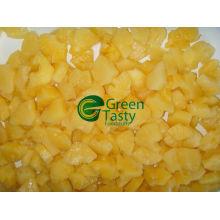 Tranches d'ananas surgelées IQF de haute qualité