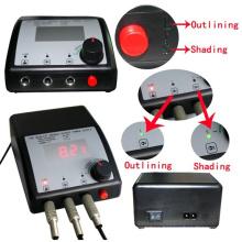 Flat LCD Dual Tattoo fuente de alimentación para la máquina del tatuaje