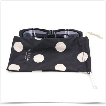 Sunglasses Microfiber Drawstring Pouch with Transfer Printing Logo