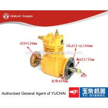 Compresseur d'air 630-3509100A d'origine YUCHAI moteur YC6105 pour camion chinois