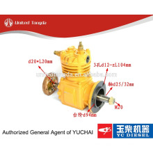 Original YUCHAI engine YC6105 air compressor 630-3509100A for Chinese truck