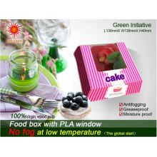 Karton Lebensmittelverpackungen Boxen mit Anti-Frog-Fenster
