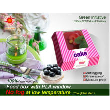 Cardboard Food Packaging Boxes with Anti-Frog Window