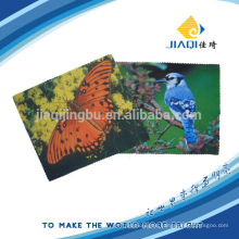 160gsm brushed microfiber glasses cleaning cloth