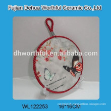 Popular ceramic pot holders with butterfly shape