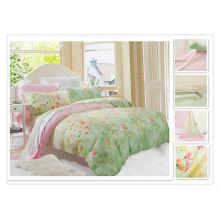 40 * 40s 133 * 72 impresión reactiva Purebest tencel conjunto de ropa de cama