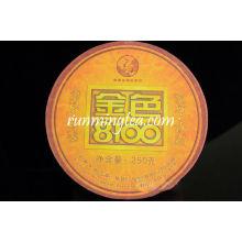 "2007 Xiaguan ""Jin Se 8100"" Raw Pu Er Puer Té Puerh Tuo en la caja-250g / tuo"