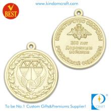 Preço competitivo 3D ambos lado medalha de lembrança de chapeamento de ouro em alta qualidade