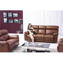 Living Room Sofa with Modern Genuine Leather Sofa Set (915)