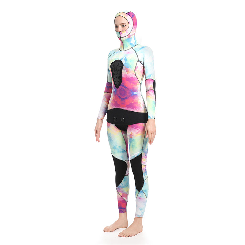 Seaskin Women Two Pieces Wetsuit