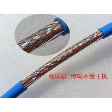 Cat5e câble Ethernet blindé SFTP avec conducteur de cuivre pur échoué